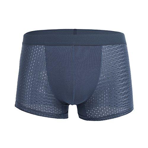 AGRBLUEN Men Fashion Beach Shorts Summer Swimming Trunks Quick Dry Pants