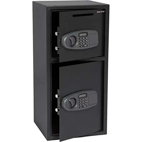 Large Double Door Digital Deposit Safe Cash Jewelry Gun D...