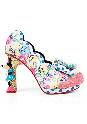 Disney Sherbet Ice Cream Minnie Character Heels Size 7 Ice Cream Shoes Women