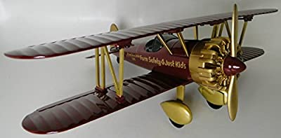 High End Aircraft Model Airplane Collectible Biplane 1 Museum Quality Collector Metal 32 Vintage Antique Military WW1 Armour 72 Pre Built 48 Rare Diecast 18 Carousel Gold Investment Grade Scale