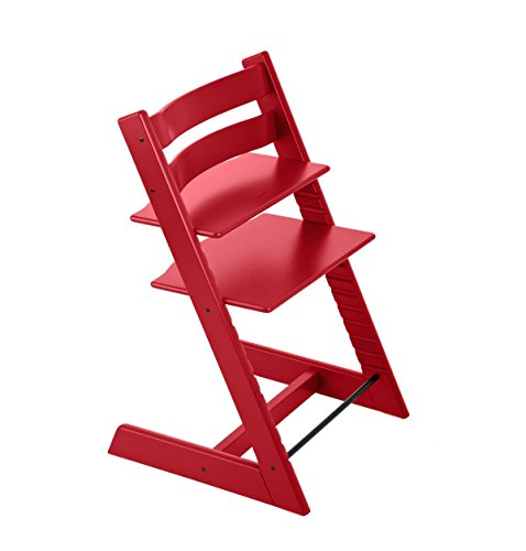 - Stokke Tripp Trapp Chair Only, No Harness, Red