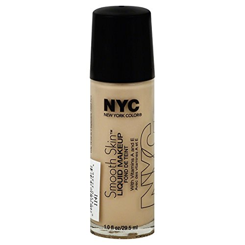 NYC Smooth Skin Liquid Makeup - Nude (Vip Liquid Cosmetics)