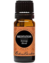 Meditation Synergy Blend Essential Oil- 10 ml (Ylang Ylang, Patchouli, Frankincense, Clary Sage, Sweet Orange & Thyme)
