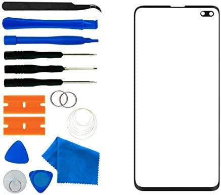 Screen Replacement Front Outer Lens Glass Screen Replacement Repair with Adhesive and Tool kit. Galaxy S10