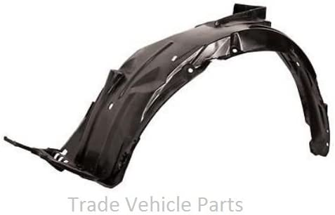Front Wing Arch Liner Splash Guard Driver Side/ Compatible With Fiesta 2008-2012 Trade Vehicle Parts FD1414