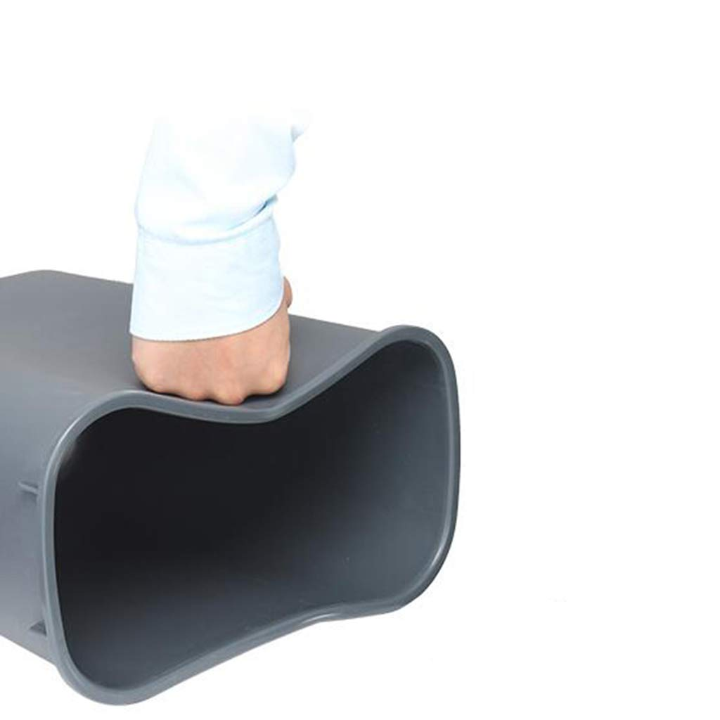 recoger di al aire libre con cubierta Tubo cuadrado de pl/ástico Saneamiento al aire libre Cubo de basura Caja de limpieza Hogar Gran cubo de basura 15-100L Escombros KJZ Sin cubierta Cubo de basura