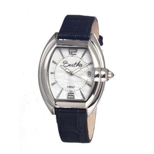 bertha-womens-chloe-black-white-leather-watch