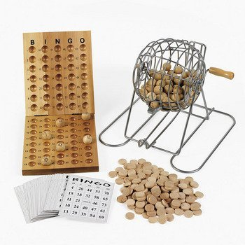 Cage Deluxe Game Bingo (Deluxe Bingo Set - Games & Activities & Games)