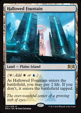Magic: The Gathering - Hallowed Fountain - Ravnica Allegiance