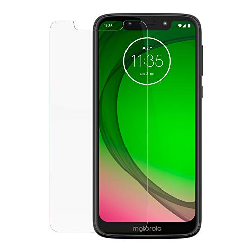Motorola Moto G7 Play/ G7 Optimo Screen Protector- Strong Tempered Glass with Antimicrobial treatment for total screen protection and freshness (Color: Transparent)