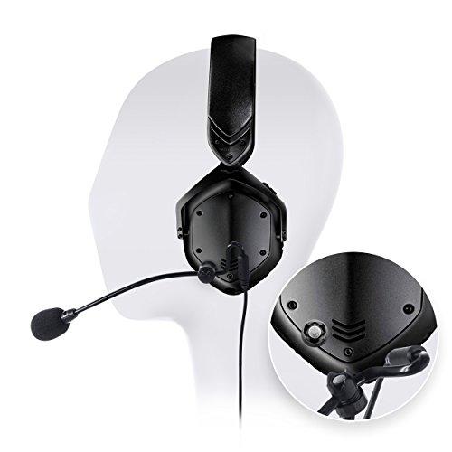 V-MODA Crossfade LP2 Vocal Limited Edition Over-Ear Noise-Isolating Metal Headphone (Matte Black)