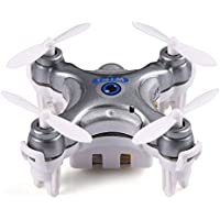 Mini Dorne WIFI FPV Android APP Remote Control 2.4GHz 4CH 6 Axis Quadcopter Helicopter with 0.3MP HD Camera (Gray)