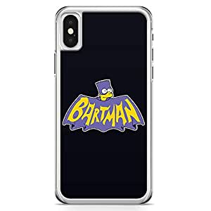 Loud Universe Bartman Bart Simpson iPhone X Case Batman The Simpson iPhone X Cover with Transparent Edges
