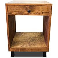 Modern and Rustic Nightstand