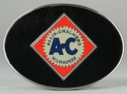 l Logo Belt Buckle Black (Black Enamel Buckle)