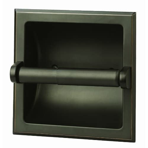 Design House 539254 Millbridge Recessed Toilet Paper Holder, Oil Rubbed Bronze