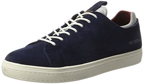 Ben Sherman Herren Holmes Low-Top Blau (Navy)