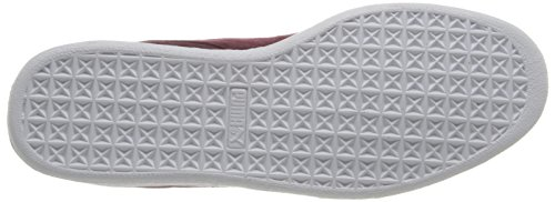 PUMA Adult Suede Classic Shoe Zinfandel/White fEvNe