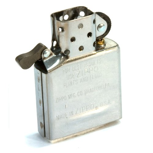 Genuine STANDARD Size Zippo Insert with Wick and Flint - To fit STANDARD Zippos NOT the Slim Lighters AJ In The Forest Flints
