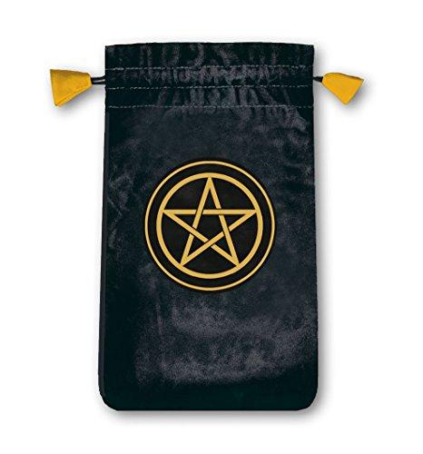 Lo Scarabeo Velvet Pentacle Tarot Bag for Miniture Cards
