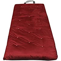 Gold Bond 0603E0-0115 Overnighter Futon Mattress, Microfiber, 3, Burgundy