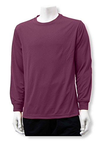 Code Four Athletics Long Sleeve Soccer Goalkeeper Jersey for Youths, Adults - Size Adult XL - Color Maroon ()