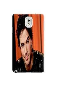 Cool Ian Somerhalder fashionable designed TPU phone protection case For Samsung Galaxy Note 3 with Fresh Patterns Kimberly Kurzendoerfer
