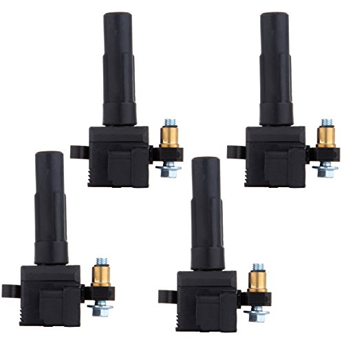 Coil Wagon (Scitoo Set of 4 Ignition Coil Fits Subaru Impreza WRX Sedan Wagon EJ205 C1401 UF480)