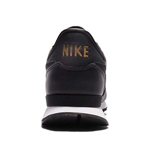 Nike W Internationalist Premium, Zapatillas de Running Para Mujer Negro (Anthracite/blanc Sommet/noir/anthracite 012)