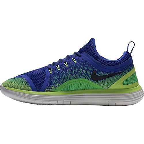 Nike Uomini Distanza Libera Rn 2 Scarpe Da Ginnastica Blu (bleusouverain / Vertelectro / Noir)