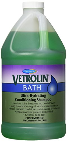 Tick Shampoo Gallon - Vetrolin Bath Shampoo 64 oz