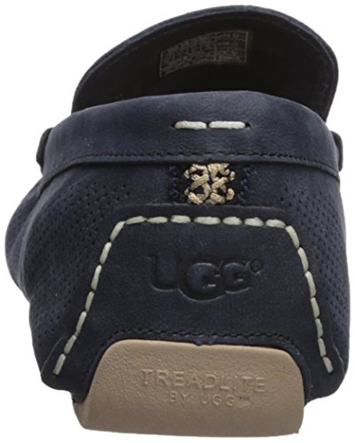 Ugg Mens Henrick Bande Perf Marine Chaussure Bateau