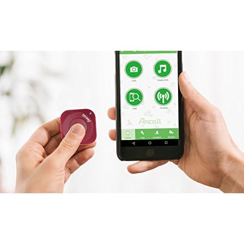 Ancall Smart Tracker, Bluetooth Item Locator, Key finder