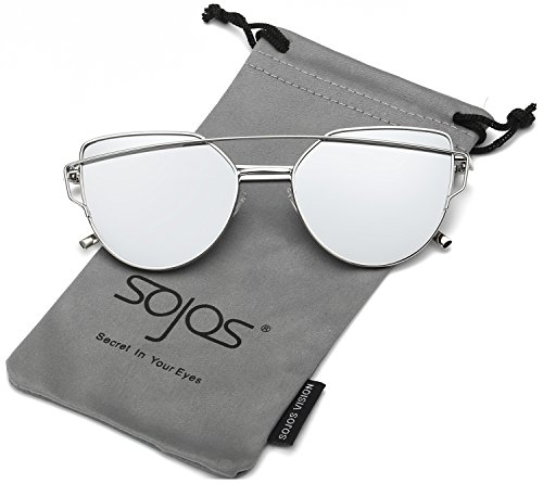 SojoS Mirrored Fashion Sunglasses SJ1001