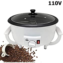 2020 Upgraded Coffee Bean Roaster, 750g Large Coffee Roaster Machine for Home Use, Non-Stick Coffee Roasting Equipment for Peanut Nut Chestnuts