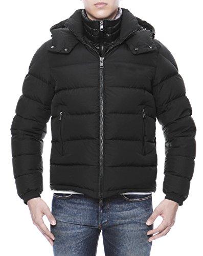(モンクレール) MONCLER フード付 ダウンジャケット BLACK ブラック BRIQUE ブリック 4 BRIQUE 53859 999 [並行輸入品]