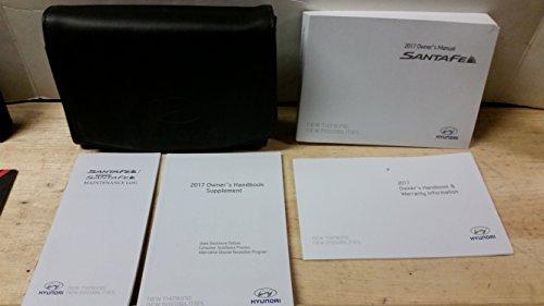 2017 Hyundai Santa Fe Owners Manual