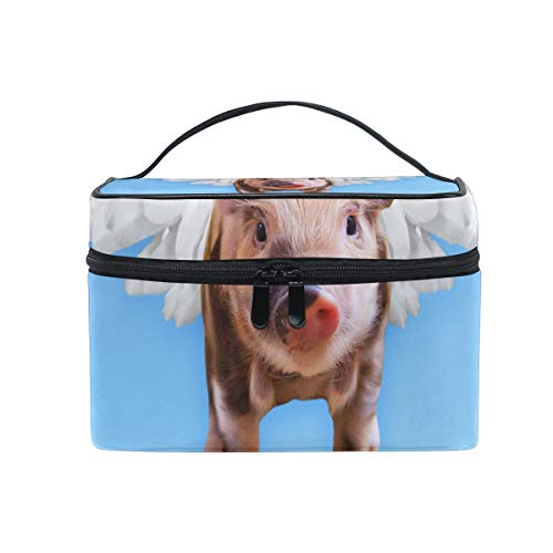 Makeup Bag Chien Animal Mignonne Cosmetic Bag Portable Large Toiletry Bag for Women/Girls Travel