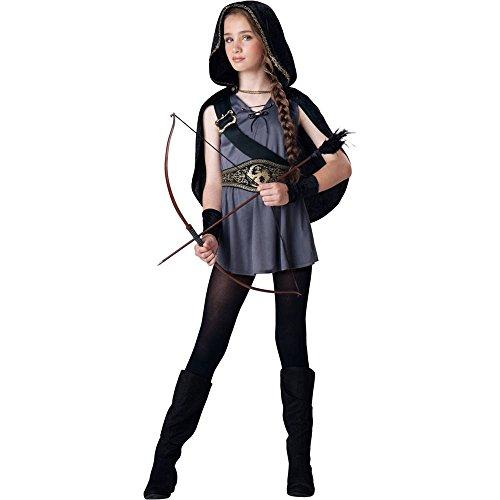 Hooded Huntress Tween Costume - Small (Hooded Huntress Costumes For Tweens)