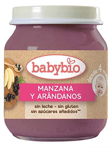 Babybio Potito de Manzana y Arándanos - 130 gr: Amazon.es: Alimentación y bebidas