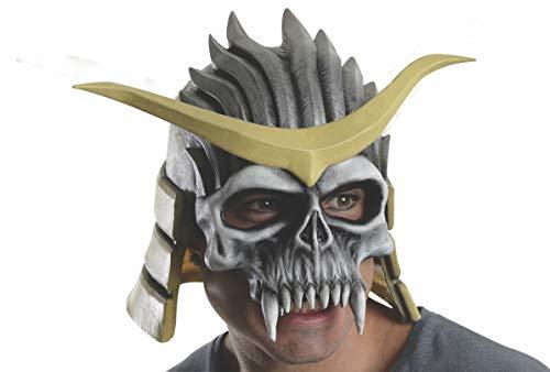 Rubie's Men's Mortal Kombat Shao Kahn Overhead Latex Mask, Multi, One Size ()