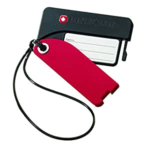 Maple Leaf Luggage Tags-Set of 2, Red, International Carry-On