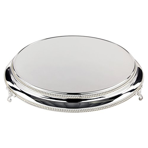 Metallic Wedding Cake Stand Plateau (Silver) ()