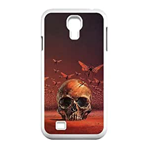 Cool PaintingFashion Cell phone case Of Artsy Skull Bumper Plastic Hard Case For Samsung Galaxy S4 i9500