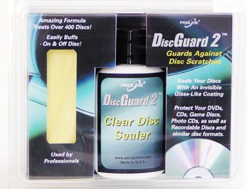 DiscGuard2 Clear Disc Sealer Kit by Proline Digital