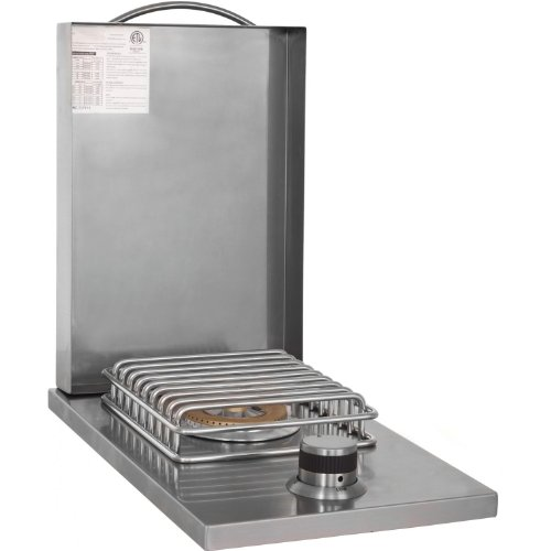 bbq island cover with side burner - 2