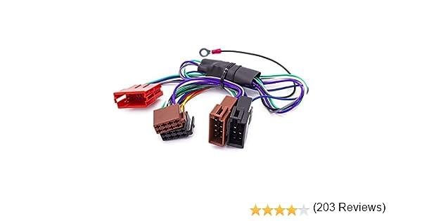 Adaptador del Sistema Activo de Radio, Cable de 100 W DSP Bose, para Audi A2 A3 A4 A6 A8 TT B5: Amazon.es: Coche y moto