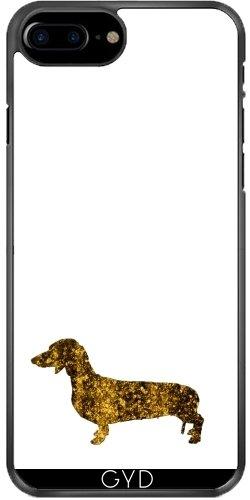 Coque pour Iphone 7 Plus / 8 Plus (5,5'') - I Aime Mon Teckel by UtArt