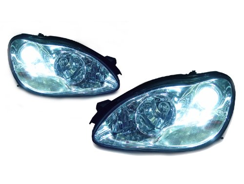 AUTO-LEVEL 00-06 MERCEDES BENZ W220 S CLASS XENON HID HEADLIGHT OEM REPLACEMENT - S55 S500 S600 AMG