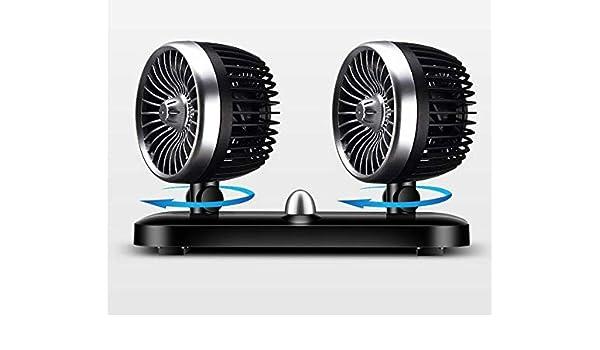 FanCar 12V24V coche eléctrico en el ventilador del coche ...